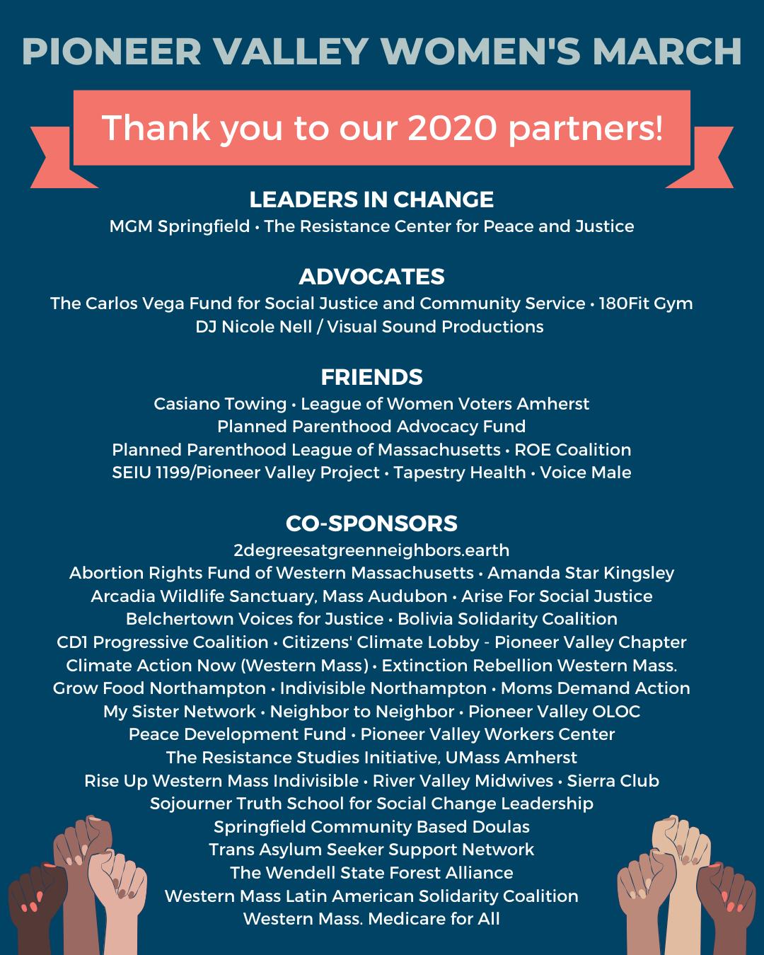 PVWM 2020 Partners